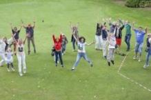 """Klīnikas kolektīva aktīvas atpūtas pasākums golfa klubā """"Viesturi"""""""