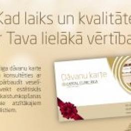 Dāvanas arī dāvinātājiem | Capital Clinic Riga dāvanu kartes