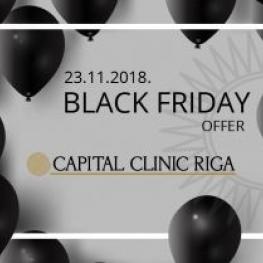 Black Friday sale at Capital Clinic Riga